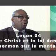 adventiste Le Christ et la loi dans le sermon sur la montagne